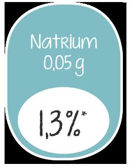 YOLOCO Frozen Yogurt Nährwertangaben Natrium