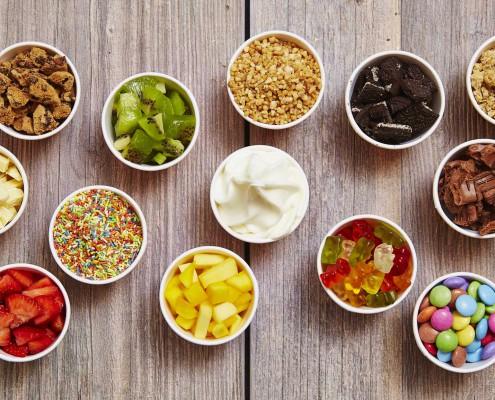 YOLOCO Frozen Yogurt Toppings lecker und gesund